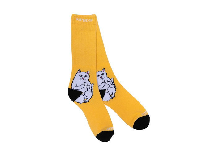 RIPNDIP|Lord Nermal Socks (Gold)