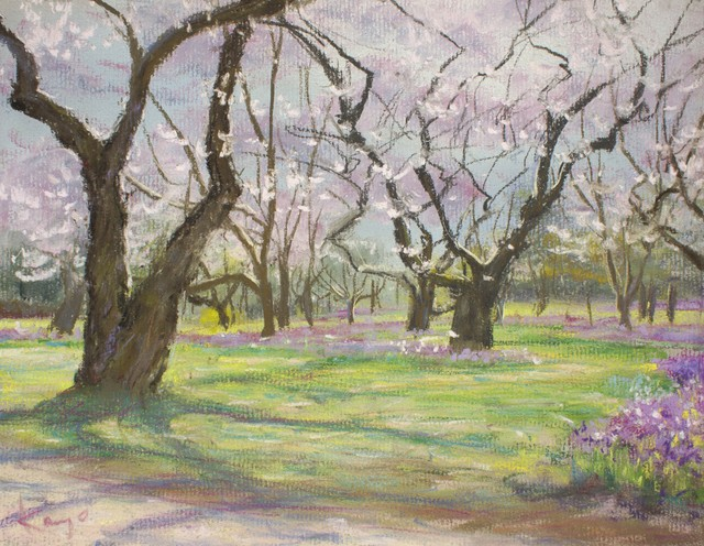 NO.91「桜の雲・4月」