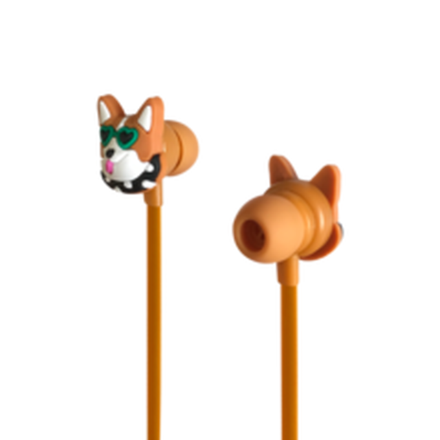 Funky Earphone - Welsh Corgi