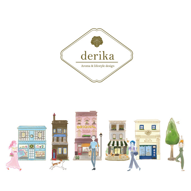 《derika BASIC》 YOU CAN DO IT!  アロマルームミスト(40ml)