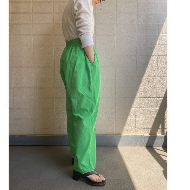 Lime color big easy pants