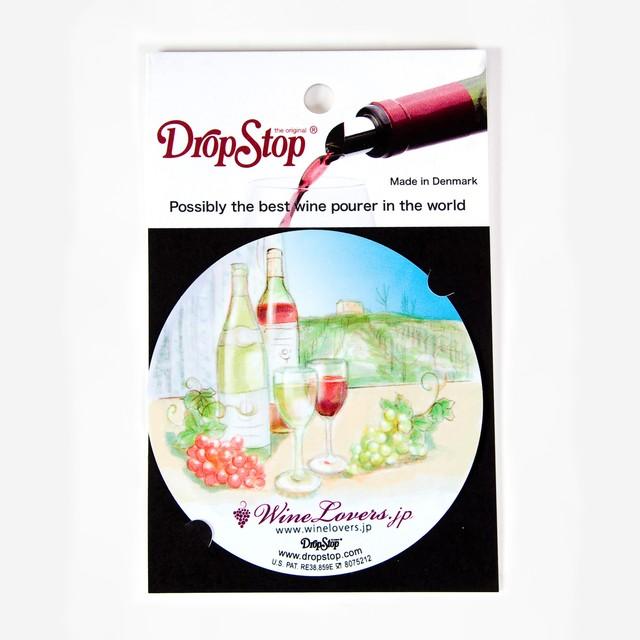 アートコレクションVol.1/ 2枚入り(すずやともこ)【Drop Stop】 ワイングッズ