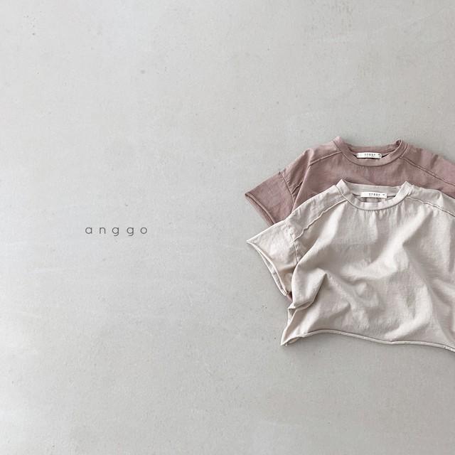 【2021SS予約】【anggo】Maple T-shirt