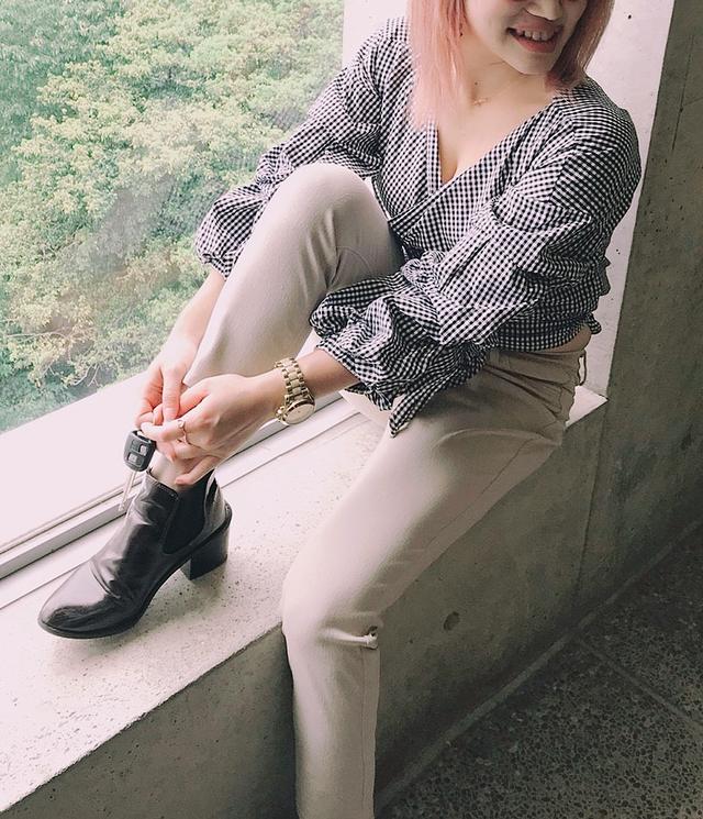 Ribon Sleeved Blouse♥