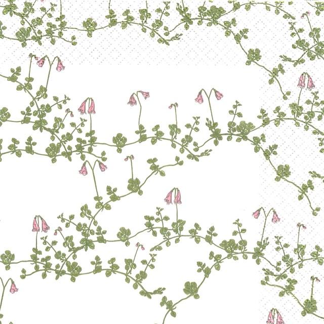 北欧【havi】バラ売り2枚 ランチサイズ ペーパーナプキン Vanamo ホワイト Designed by Nuppu