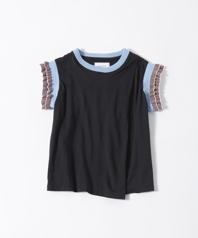 【TRICOTÉ】LADIES TANK TOP:ブラック