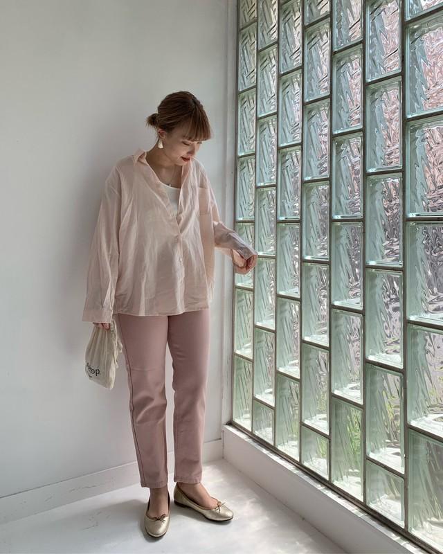 【asyu】everyday pink pants