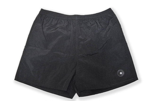 【Taslan nylon shorts】/ black