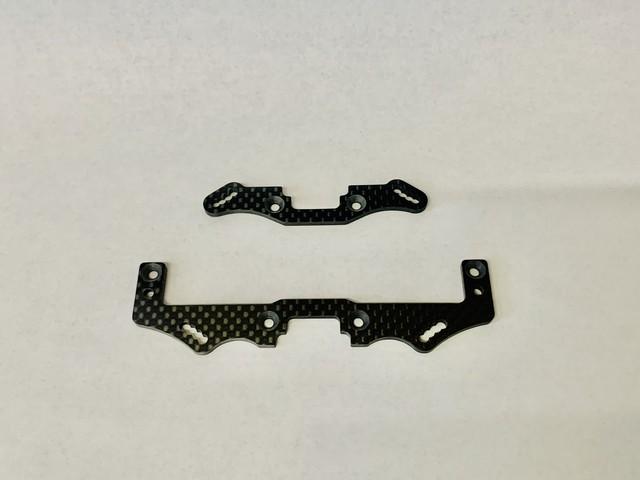 XQ1/XQ1S用 カーボン製ショートダンパーステー Fフロント/Rリヤ セット