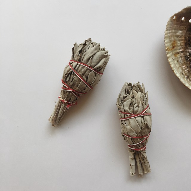 White Sage Bandle Set of 2
