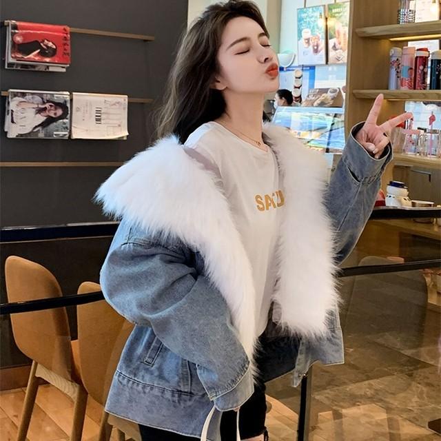 【アウター】フェアリー ファッション合わせやすい取り外し可能長袖ショート丈厚いコート36052182
