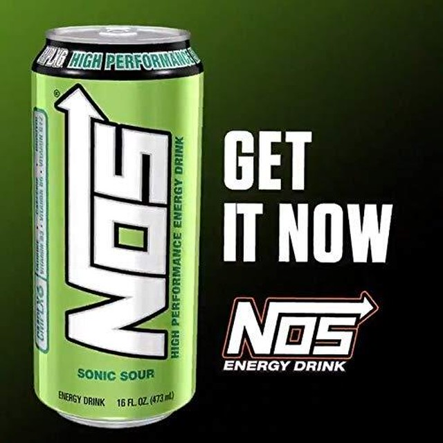 NOS エナジードリンク(Sonic Sour)