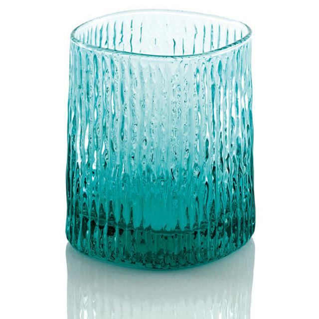 IVV  turquoise Niagara【イタリア製ガラス食器】
