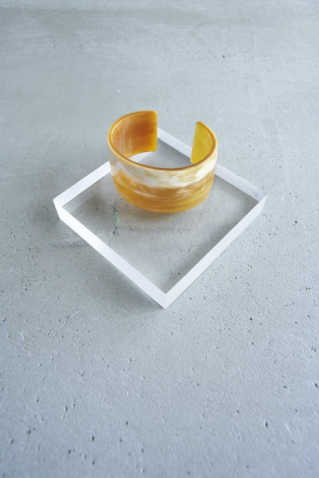 L'INDOCHINEUR NATURAL MARBLE Bangle