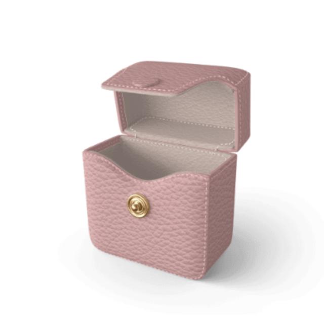 Air Pods Case Premer Shrink Leather (Blush Pink)