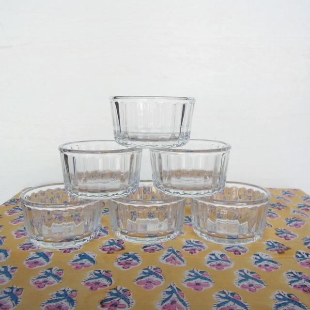PASABAHCE ガラスラメキンスフレカップ