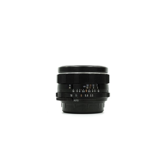 PENTAX Super-Multi-Coated TAKUMAR 35mm F3.5
