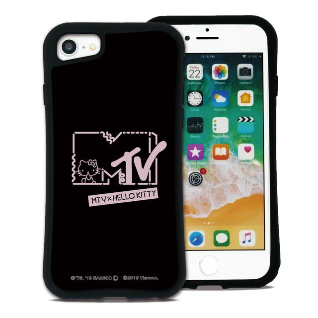 MTV×ハローキティ  カワイイポップ ロゴブラック セット WAYLLY(ウェイリー) iPhone 8 7 XR XS X 6s 6 Plus XsMax対応!_MK_