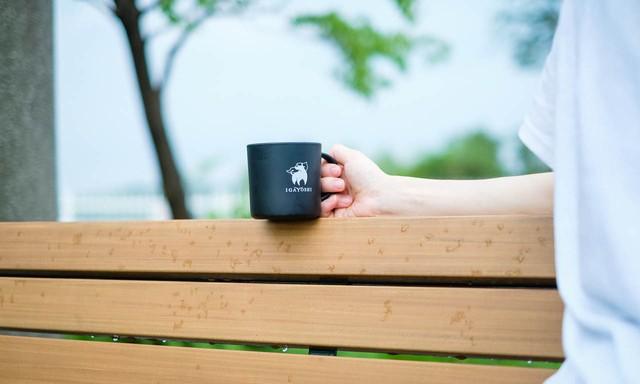 バンブーマグカップ Bamboo mug  【UYAMA × IGAYOSHI】