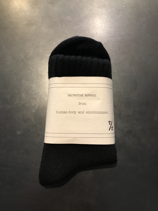 TrAnsference object dyed mid socks - black