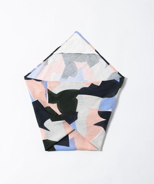 【TRICOTÉ】PUZZULE SWADDLE BLANKET:ピンク