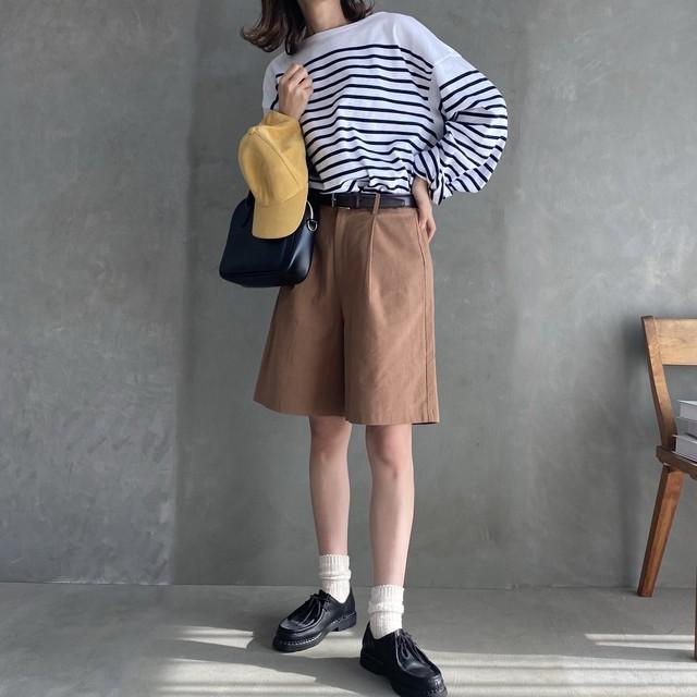 casual half pants セットアップ可