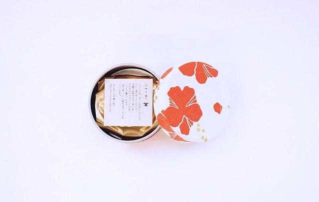 シマノネ お茶入り缶 「さんぴん茶」