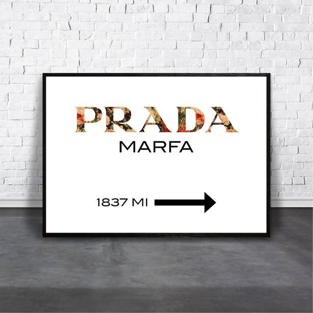 PRADA MARFA / 【アートポスター専門店 Aroma of Paris】[AP-000264]