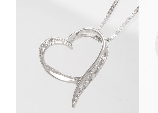 K10 クロスモチーフ 十字架 ダイヤモンド ペンダントネックレス