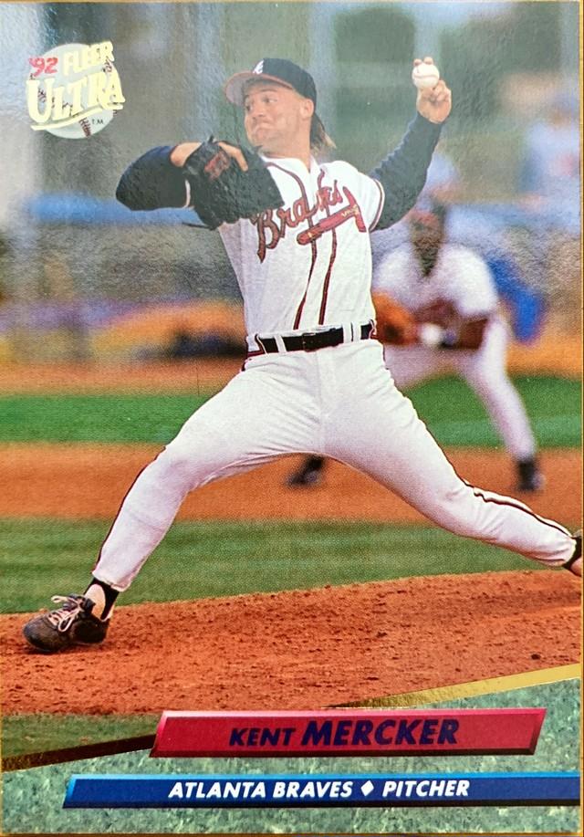 MLBカード 92FLEER Kent Mercker #460 BRAVES