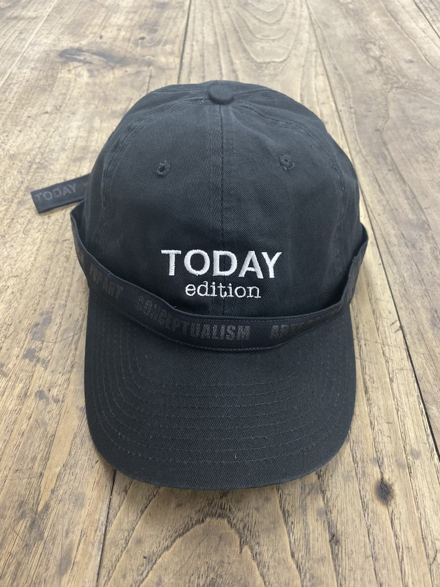 TODAY edition / TODAY CAP(BLK)
