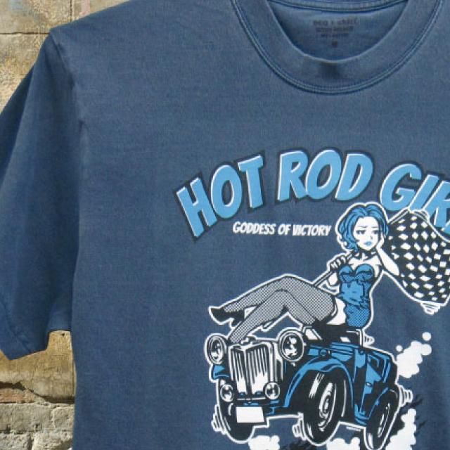 HOT ROD GIRL 【ホット ロッド ガール】 カラー: ストーンウォッシュブルー