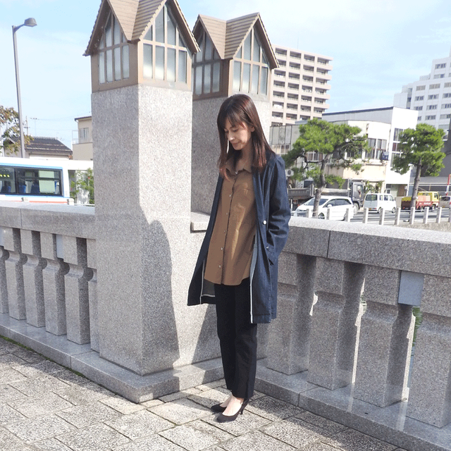 denim coat:D.INDIGO
