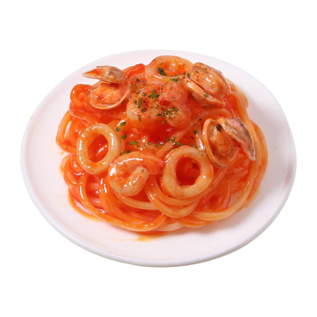 [0550]食品サンプル屋さんのマグネット(ペスカトーレ)【メール便不可】