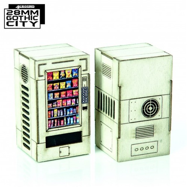 【予約発注】White Vending Machines 28F-GOC-A31W