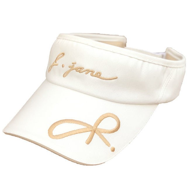 【即日発送】Big Ribbon Suncap  (White)