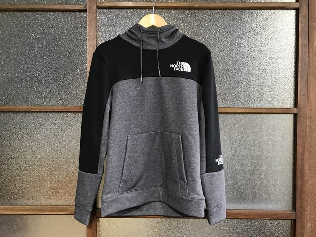 THE NORTH FACE LIGHT HOODIE (HEATHER GREY/BLACK)
