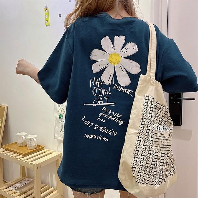 【トップス】韓国系アルファベットプリント半袖Tシャツ32674186