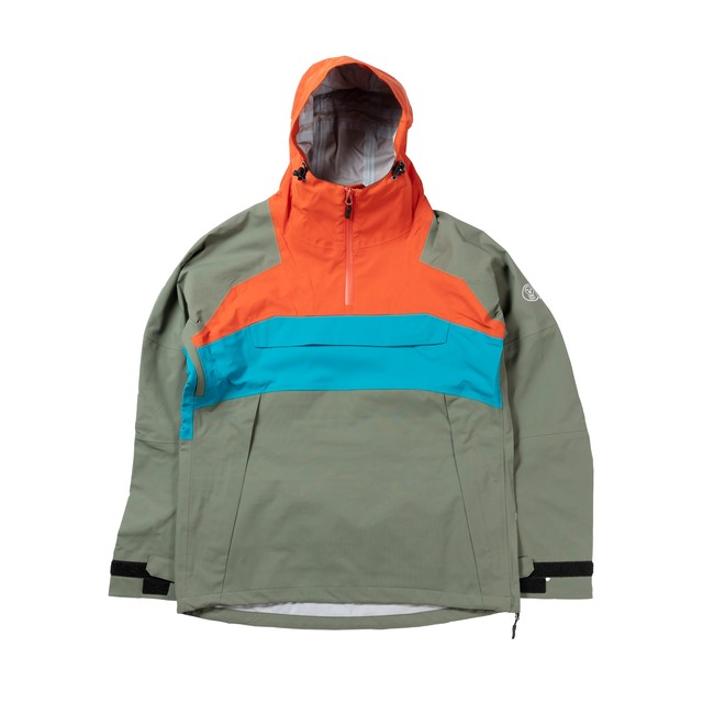 2021unfudge snow wear // SMOKE ANORAK // ORANGE / 10月中旬発送