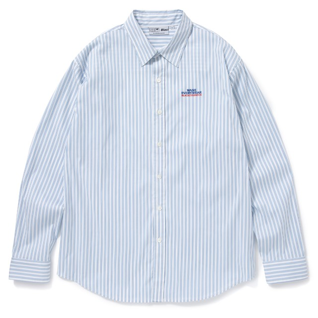 BLACK EYE PATCH / LAUNDROMAT STRIPED L/S SHIRT