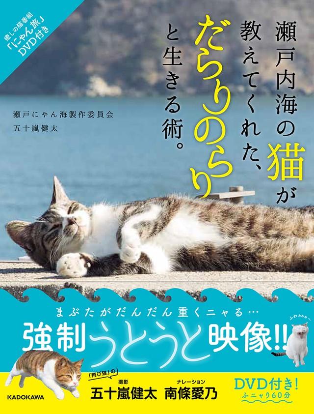 「瀬戸内海の猫が教えてくれた、だらりのらりと生きる術」DVD付き写真集