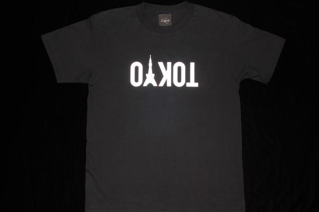 NIAC × LIBERTY TOKYO Reflection Tshirts black