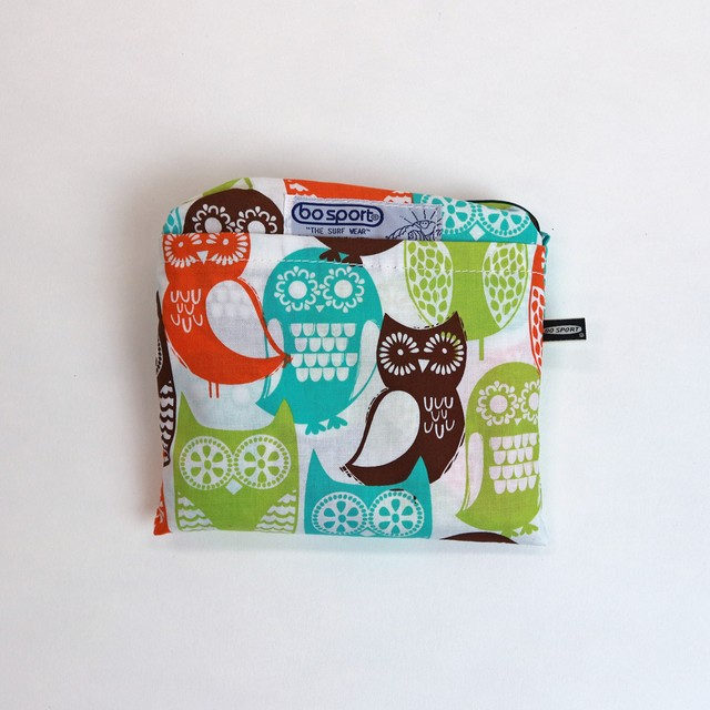 BO SPORT California Fabric Eco Bag / Owls