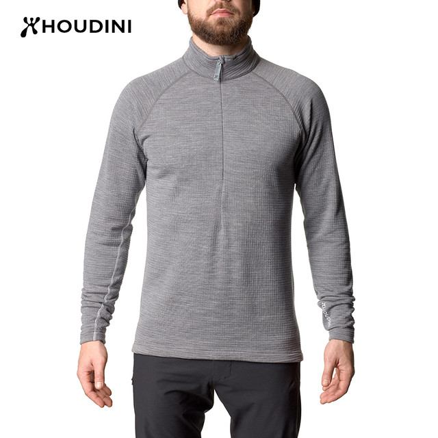 HOUDINI   M's Wooler Halfzip