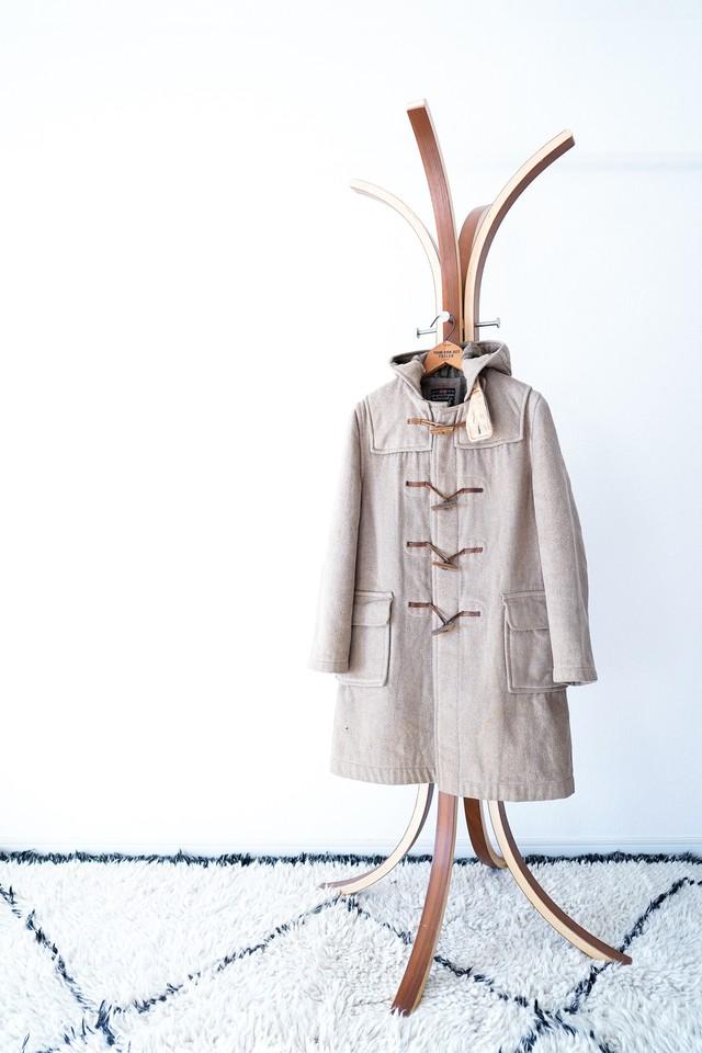 "【1970s】""Gloverall"" Wool Duffle Coat / v440"