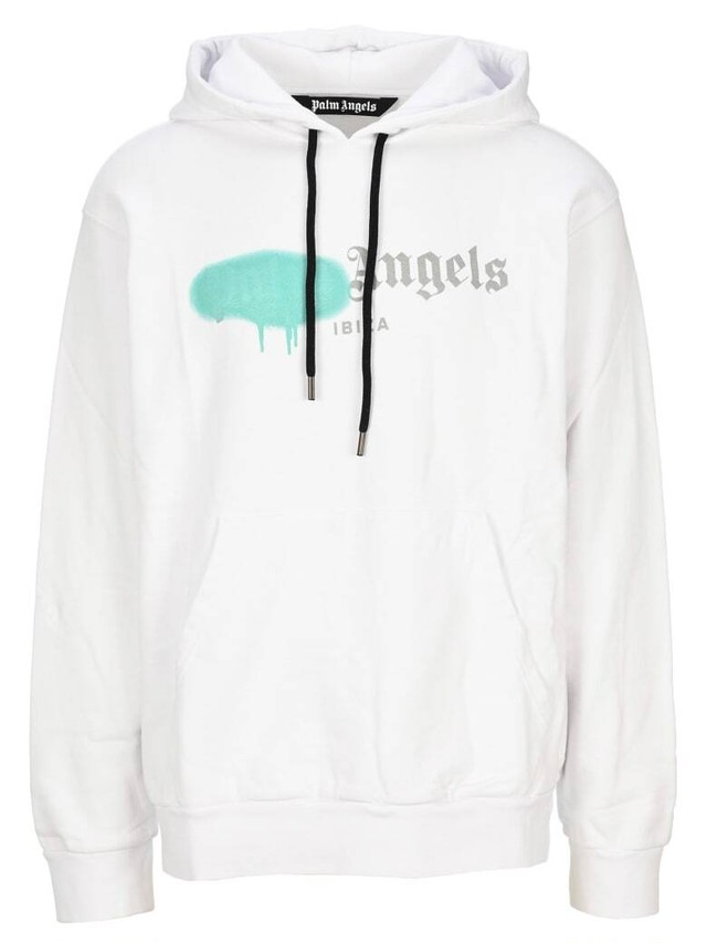 PALM ANGELS IBIZA SPRAYED HOODIE