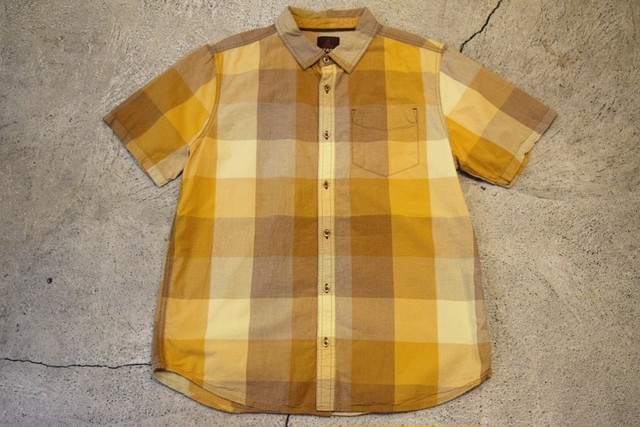 USED prana S/S shirt L S0356