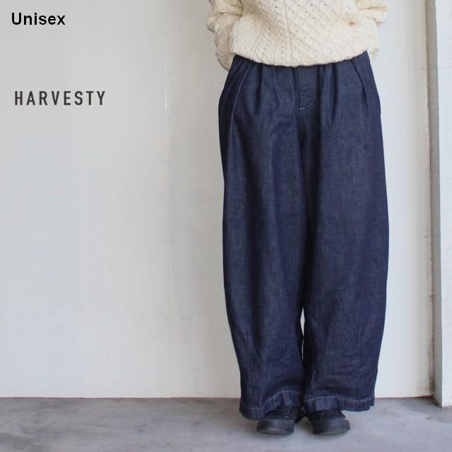 HARVESTY デニムサーカスパンツ CIRCUS PANTS A11801 (ワンウォッシュ)