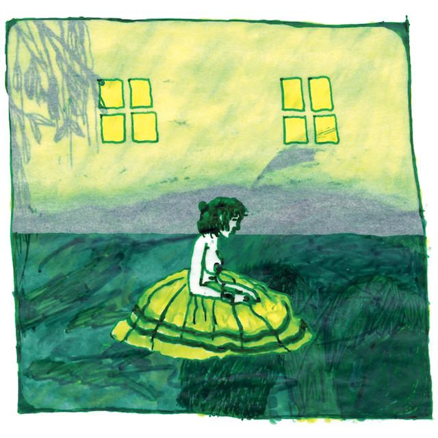"Animal Collective - Prospect Hummer (LTD. Green & Yellow Starburst (12"")"