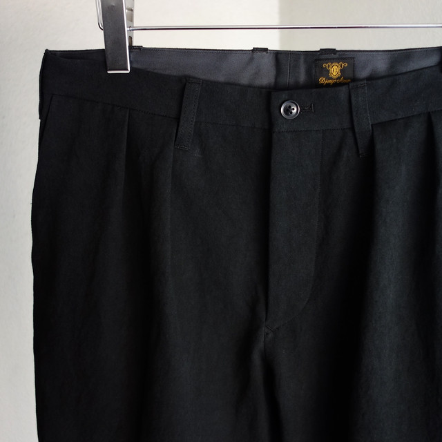 classic twotuck frenchtrousers / black